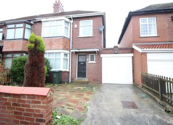 Thumbnail 3 bed semi-detached house to rent in Auden Grove, Fenham, Newcastle Upon Tyne
