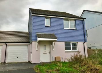 Thumbnail 3 bed link-detached house to rent in Chyvelah Close, Threemilestone, Truro