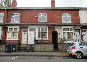 Thumbnail 2 bed terraced house to rent in Newcombe Road, Handsworth, Birmingham