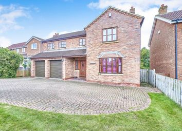 Thumbnail 5 bed detached house for sale in Golden Acres, East Cowton, Northallerton