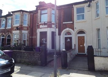 Thumbnail 4 bed terraced house for sale in Rufford Road, Liverpool, Merseyside