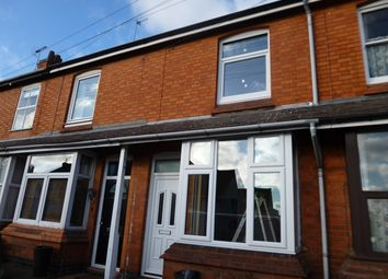 Thumbnail 2 bed terraced house to rent in Main Street, Kirby Muxloe, Leicester.