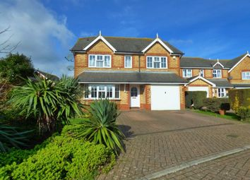 Thumbnail 4 bed detached house for sale in Gloster Close, Hawkinge, Folkestone