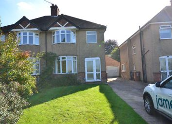 Thumbnail 3 bed semi-detached house to rent in Hampermill Lane, Oxhey, Watford