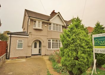 Thumbnail 3 bed semi-detached house for sale in Withert Avenue, Bebington, Wirral