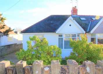 Thumbnail 3 bed semi-detached bungalow for sale in Pyle Road, Bishopston, Swansea