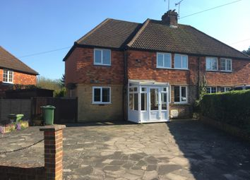 Thumbnail 3 bed semi-detached house to rent in Farley Nursery, Westerham