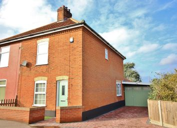 Thumbnail 3 bed semi-detached house for sale in Middletons Lane, Hellesdon, Norwich