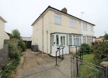 Thumbnail 3 bed semi-detached house for sale in Overbury Road, Hellesdon, Norwich