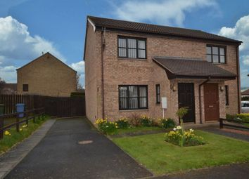 Thumbnail 2 bed semi-detached house for sale in New Barns Way, Warkworth, Morpeth