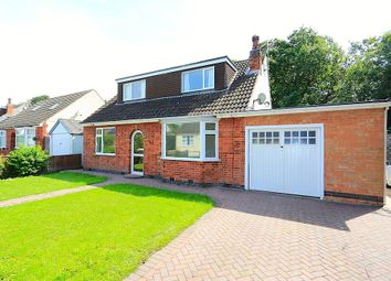 Thumbnail 4 bedroom detached house for sale in Grange Avenue, Leicester Forest East, Leicester