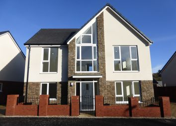 Thumbnail 4 bed detached house for sale in Gower Road, Sketty, Swansea
