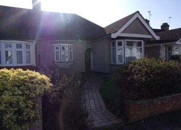 Thumbnail 3 bed semi-detached bungalow for sale in Carlton Road, Gidea Park