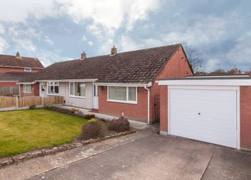 Thumbnail 3 bed semi-detached bungalow for sale in Acredale Road, Carlisle