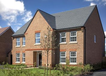"Thumbnail 5 bed detached house for sale in ""Glidewell"" at Newton Lane, Wigston"