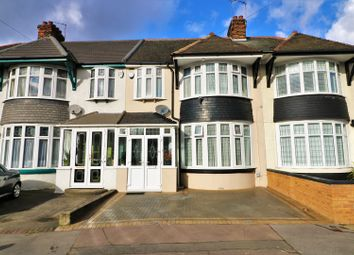 Thumbnail 3 bed terraced house for sale in Sandhurst Drive, Ilford