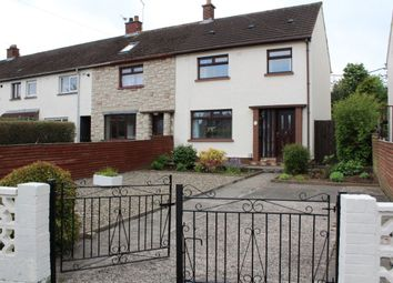 Thumbnail 3 bed terraced house for sale in Coronation Park, Dundonald, Belfast