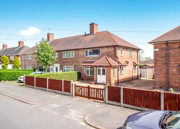 Thumbnail 3 bed semi-detached house for sale in Honiton Road, Strelley, Nottingham