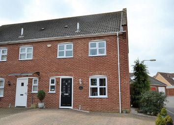 Thumbnail 3 bed semi-detached house for sale in Bluebell Close, Watton, Thetford, Norfolk.
