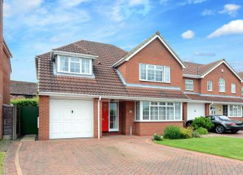 Thumbnail 4 bedroom detached house for sale in Essex Chase, Priorslee, Telford