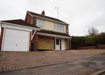 Thumbnail 3 bed detached house for sale in Blaydon Close, Off Groby Road