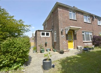 Thumbnail 3 bed semi-detached house for sale in North Road, Kings Worthy, Winchester