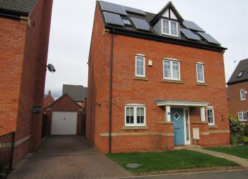 Thumbnail 3 bed detached house for sale in Saxby Drive, Syston, Leicester