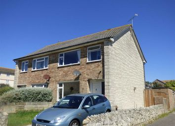 Thumbnail 3 bed semi-detached house for sale in Courtlands Road, Portland, Dorset