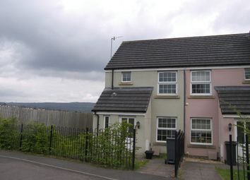 Thumbnail 2 bed semi-detached house to rent in Llwyn Helyg, Bryncoch, Neath