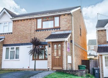 Thumbnail 2 bed semi-detached house for sale in Birchwood Gardens, Whitchurch