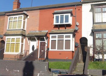 Thumbnail 2 bed terraced house for sale in Flats 1 & 2, 48 South Road, Hockley, Birmingham