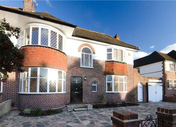 Thumbnail 4 bed semi-detached house to rent in Burdett Avenue, London