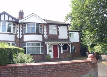 Thumbnail 10 bed semi-detached house to rent in Daisy Bank Road, Longsight, Manchester