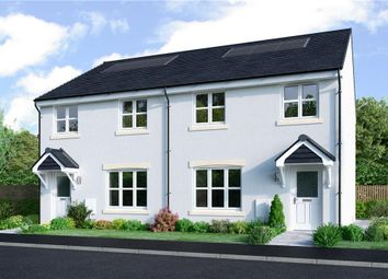 "Thumbnail 3 bed semi-detached house for sale in ""Meldrum"" at Borthwick Castle Road, North Middleton, Gorebridge"
