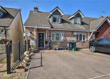 Buckshaft Road, Cinderford, Gloucestershire GL14. 3 bed end terrace house for sale