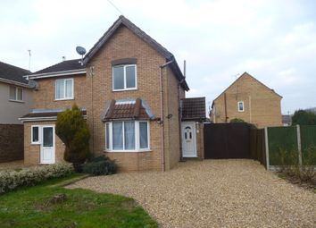 Thumbnail 2 bed semi-detached house to rent in Angell Lane, Holbeach, Spalding