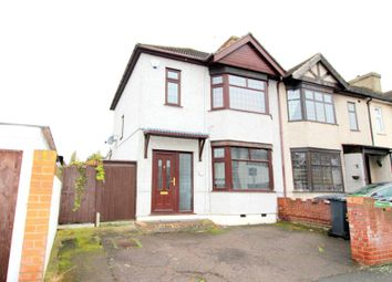 Thumbnail 3 bedroom end terrace house to rent in Suffolk Road, Dagenham