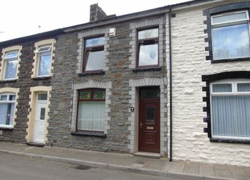 Thumbnail 3 bed terraced house for sale in Station Terrace, Mountain Ash