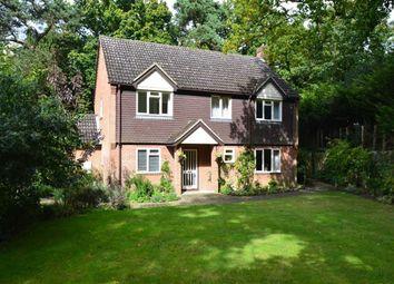 Thumbnail 4 bed detached house for sale in Brimpton Lane, Brimpton Common, Berkshire