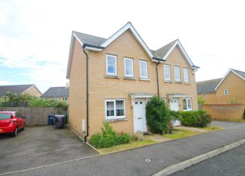 Thumbnail 2 bedroom semi-detached house for sale in Stagwell Road, Great Cambourne