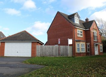 Thumbnail 5 bed detached house for sale in Sandhills Avenue, Hamilton, Leicester