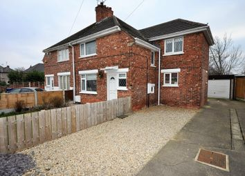 Thumbnail 3 bed semi-detached house for sale in Wembley Road, Moorends, Doncaster