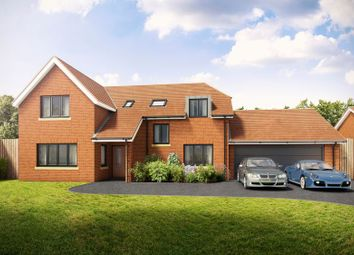 Thumbnail 4 bed detached house for sale in Robins Bridge Meadows, Off Springfield Road, Aughton