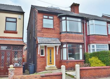 Thumbnail 3 bedroom semi-detached house for sale in Cholmondeley Road, Salford