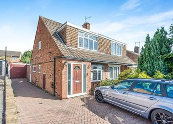 Thumbnail 3 bed semi-detached house to rent in Hever Croft, Strood, Rochester