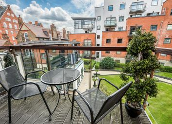 Thumbnail 1 bed flat for sale in Montaigne Close, London