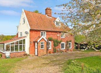 Thumbnail 5 bed farmhouse for sale in Thorpe-Next-Haddiscoe, Norwich