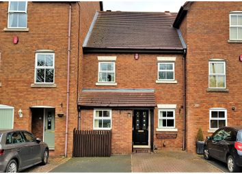 Thumbnail 3 bed terraced house for sale in Sandringham Court, Tamworth