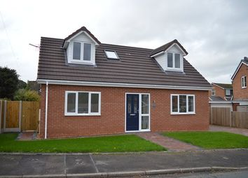 Thumbnail 3 bed detached house for sale in Melrose Crescent, Market Drayton