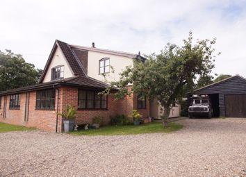 Thumbnail 4 bed detached house for sale in The Hill, Church Road, Snape, Saxmundham